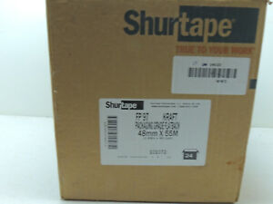 Lot Of 22 Shurtape Fp97 Packaging Grade Flatback Kraft Paper Tape 48mm X 55m