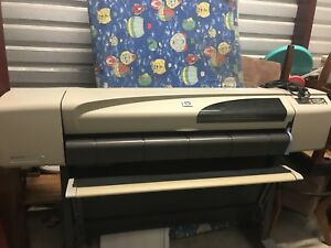 Hp Designjet 500 Color Plotter Printer