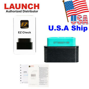 Usa Ship Launch Golo Ezcheck Obd2 Obdii Eobd Scan Tool Based On Iphone Android
