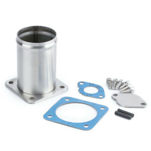 60mm Egr Delete Pipe Removal Kit For Land Rover Discovery 2 For Defender Td5