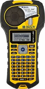 Brady Bmp21 plus Handheld Label Printer With Rubber Bumpers Multi line Print 6