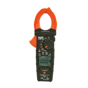 Klein Tools Cl450 600a Hvac Clamp Meter With Differential Temperature