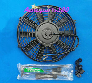Universal 14 Inch 12v Volt Electric Cooling Fan Thermo Fan Mounting Kits