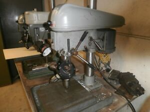 Drill Press 15 With Chicago Quadrill Attachment