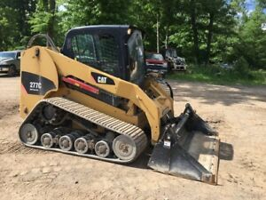 2008 Caterpillar 277c Tracked Skid Steer Loader W Cab High Flow Coming Soon