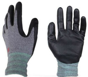 3m Super Grip 200 Work Gloves Nitrile Palm Coated Safety Glove Lot 1 10 Pair