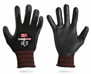 3m Pro Grip 1000 Work Gloves Nitrile Foam Coated Safety Work Glove Lot 1 10 Pair