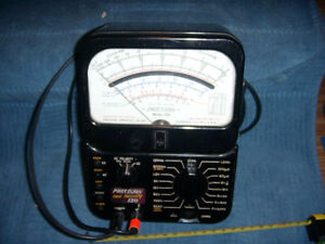 Vintage Precision Model 120 Multimeter Precision Apparatus Co