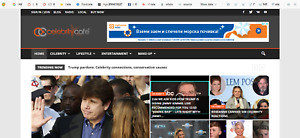 Established Profitable Celebrities News Business Turnkey Website 1 4 Per Click