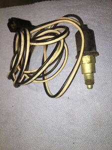 Nos Gm Vintage Back Up Reverse Light Switch With Harness