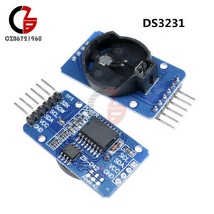 2 5 10pcs Ds3231 At24c32 Iic Rtc Clock Timer Memory Module F Arduino Repl Ds1307