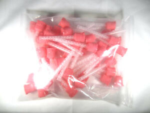 5 Bags 240pcs Pink Dental Impression Hp Mixing Tips 5 4 Mm Diameter