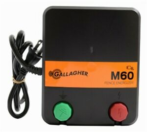 Part G383414 gallagher North America m60 110v Fence Charger 0 6 Joules Of Sto