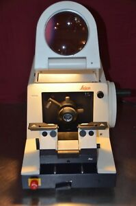Leica Instruments Rm 2065 Rm2065 Rotary Microtome Magnifier w o Knife Holder