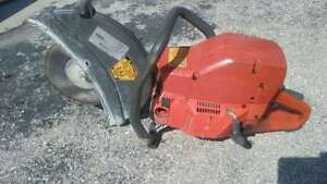Husqvarna Gas Mix Cut Off Concrete Saw