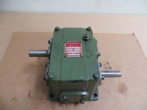 Ohio Gear 100 To 1 Shaft Style Speed Reducer Catalog D 1 Used Excellent
