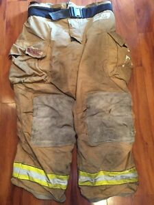 Firefighter Bunker Turnout Gear Pants Globe 44x32 G Extreme Halloween Costume