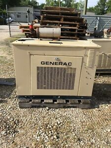 Generac Propane Generator 25kw Single Phase Sound Proof Enclosure 326 Hours