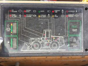 Case 621b Wheel Loader Instrument Cluster W graphics Oem 185653a2