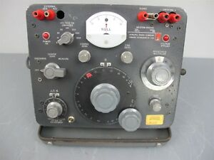 Gr General Radio Megohm Bridge Type 1644 a