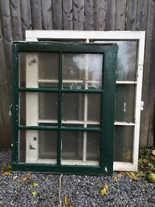 Vintage Sash Antique Wood Six Pane For Mirror Picture Frame Pinterest 3 Sizes