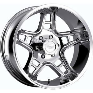 18x9 Chrome Scorpion Sc2 6x135 12 Rims Nitto Trail Grappler Lt285 65r18