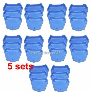 30pcs Dental Lab Model Former Base Molds With Notches 10large 10 Medium 10small