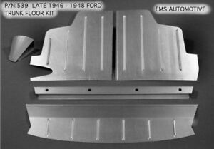 Late 1946 1948 Ford Trunk Floor Kit