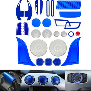 Interior Accessories Decoration Trim Dash Parts Cover Kit For Ford Mustang ya