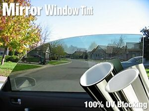 Complete Mirror Car Window Wrap Tint Glass Vinyl Film 30 X 60 4 roll Pack