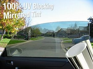 Complete Mirror Car Window Wrap Tint Glass Vinyl Film 60 X 180 Large Roll