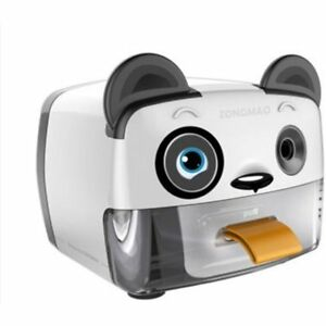 Electric Pencil Sharpener heavy Duty Helical Blade auto Stop Features For Kids