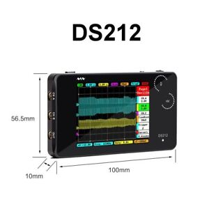 Arm Stm32 Ds212 Ds212 Dso Touch Nano Mini Pocket Digital oscillo scope
