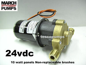 March 809 Br 24vdc Hot Water Pump 0809 0102 0100 10 Watt Panels