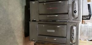 Blodgett 1048 Double Stack Gas Pizza Dough Bakery Deck Oven 1383