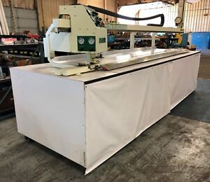 Miller Weldmaster Table top Seamer C mit 1000 Vinyl Welder Loc Erc8061 cg