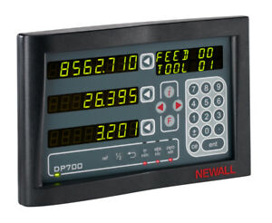 Newall Digital Readount Dp700 2 axis Display Unit