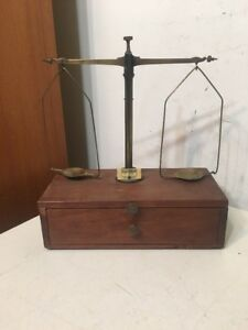 Fantastic Antique Henry Troemner Balance Scale Gold Or Pharmaceutical