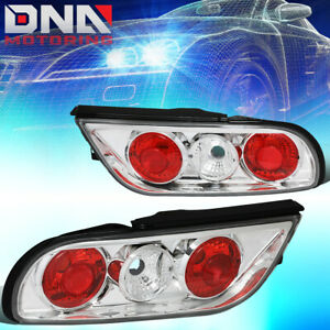 For 1989 1993 Nissan 240sx Fastback S13 Chrome Chrome Housing Altezza Tail Light