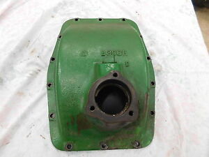 John Deere B Middle Fill Rear Case Cover B306r Antique Tractor