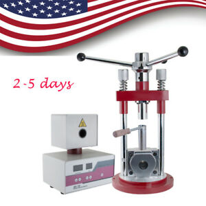 Usa Dental Flexible Denture Dentistry Injection System Equipment W Manual Press