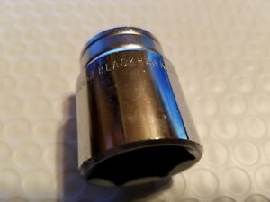 Blackhawk Proto 40632 1 2 Drive Sae 1 6 Point Chrome Socket New