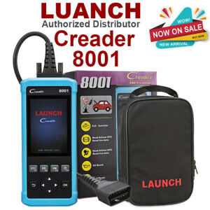 Launch Obd2 Obdii Scanner Scan Tool Code Reader Abs Srs Epb Oil Reset Freeupdate
