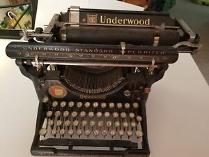 Underwood Standard No 3 Typewriter