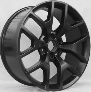 22 Wheels For Gmc Yukon Denali Sierra 6x139 7