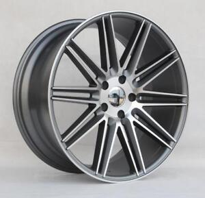 22 Wheels For Porsche Cayenne S Gts Turbo 2004 17 5x130 22x10