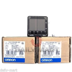 Omron E5cc rx2asm 800 100 240vac Temperature Controller New In Box Nib Free Ship