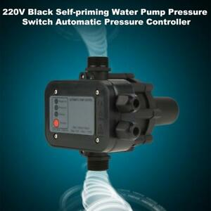 220v Self priming Water Pump Electronic Pressure Switch Auto Pressure Controller