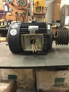Marathon Electric Motor 25hp 230 460v 284t Frame great Condition