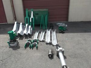 Greenlee 881ct 881 Ct Cam Track One Shot Bender 1813 Table 960 Hydraulic Pump Vg